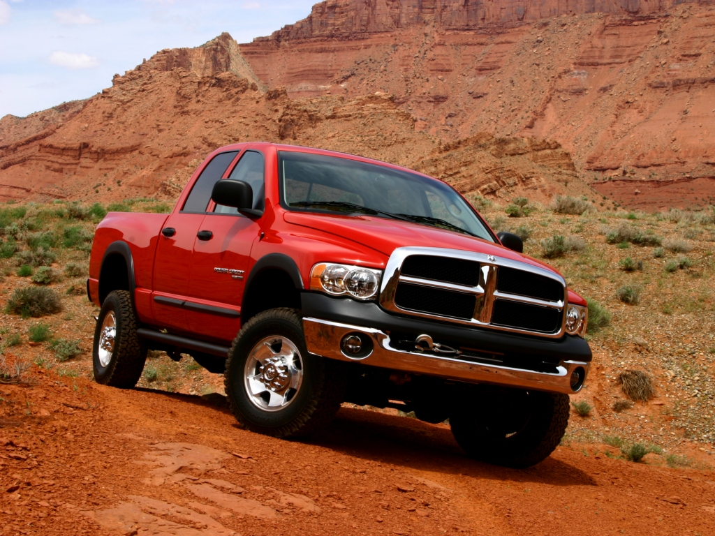 New Dodge Truck Blasts Out Of The Earth At Groundbreaking Ceremony 1949 Power Wagon Crew Cab 2005 Ram Returning To Lineup After 25 Years Is Most Capable Off Road Production Pickup