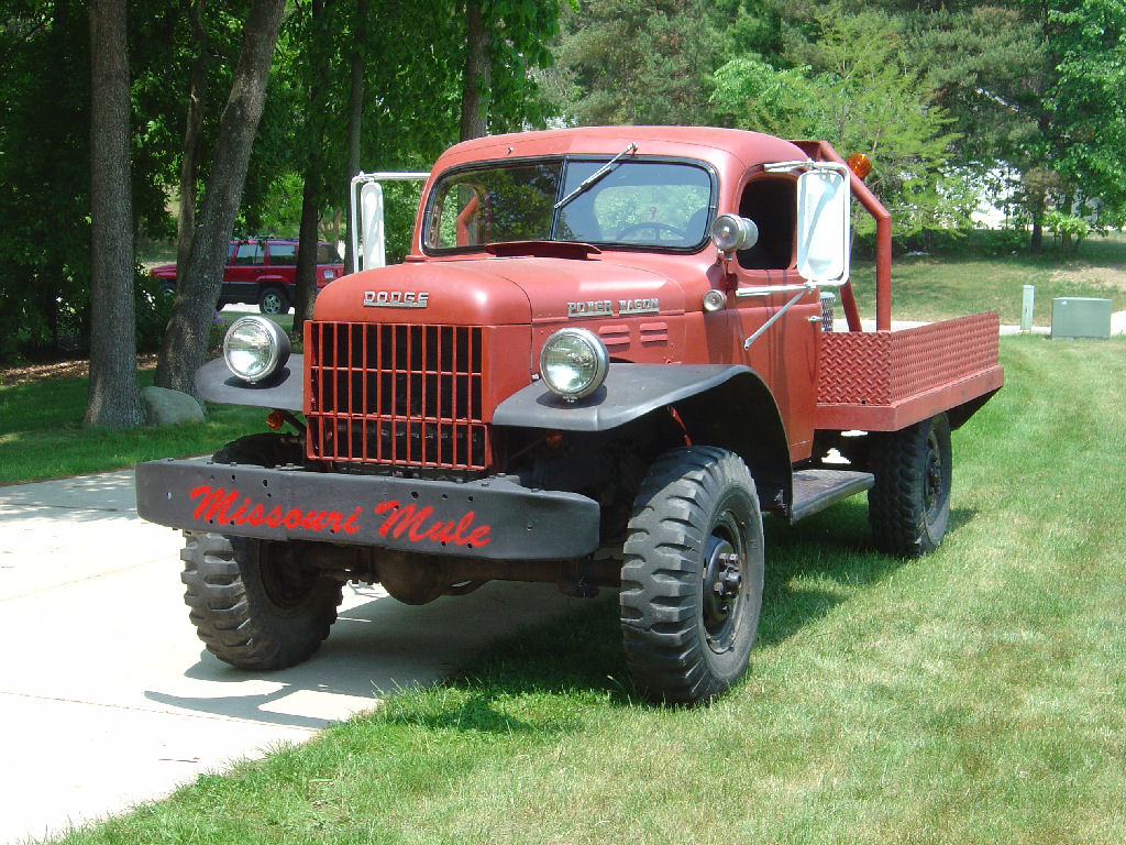 My 1946 Dodge Power Wagon