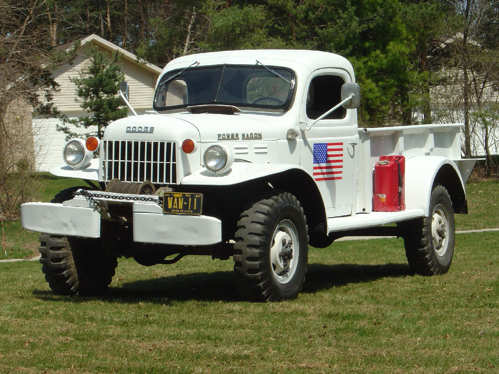 My 1949 Dodge Power Wagon First 2005 Drive Front 4 16